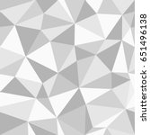 grey triangles seamless pattern.... | Shutterstock .eps vector #651496138