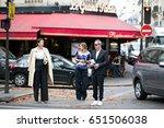 paris september 29  2016.... | Shutterstock . vector #651506038