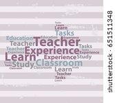 text cloud. education wordcloud....   Shutterstock .eps vector #651511348