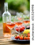holiday summer brunch party... | Shutterstock . vector #651524998