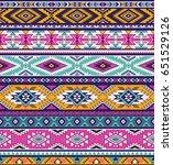 retro colors tribal vector...   Shutterstock .eps vector #651529126