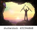 rehabilitation concept ... | Shutterstock . vector #651546868