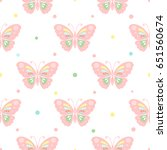 seamless pattern with... | Shutterstock .eps vector #651560674
