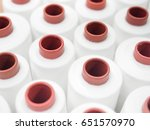 spools of thread in the sewing... | Shutterstock . vector #651570970