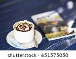 coffee cup | Shutterstock . vector #651575050
