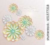 ramadan kareem greeting card... | Shutterstock .eps vector #651577318