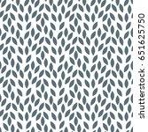 vector  leaves pattern.... | Shutterstock .eps vector #651625750