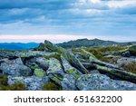beautiful summer sunrise....   Shutterstock . vector #651632200