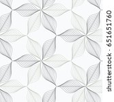 linear vector pattern ... | Shutterstock .eps vector #651651760