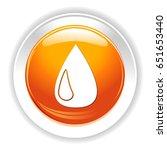 blood drop icon | Shutterstock .eps vector #651653440