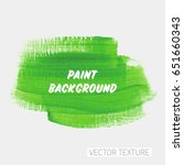 brush painted acrylic textured... | Shutterstock .eps vector #651660343