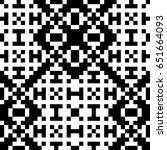 vector seamless pattern.... | Shutterstock .eps vector #651664093