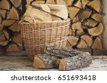 Firewood For The Fireplace ...