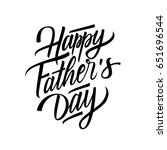happy father's day card... | Shutterstock .eps vector #651696544