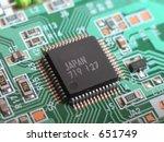 ultra close up macro of very... | Shutterstock . vector #651749