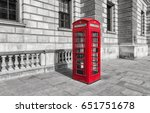 Red Phone Box In London  Unite...