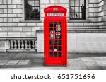 Red Phone Booth In London
