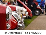 classic cars at show | Shutterstock . vector #651752230