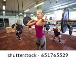 fitness  sport  training ... | Shutterstock . vector #651765529