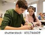 education  children  technology ... | Shutterstock . vector #651766609