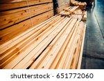 Sawn Timber. Shelf With...