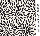 vector seamless pattern.... | Shutterstock .eps vector #651781333