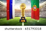 confederations cup. golden... | Shutterstock . vector #651793318