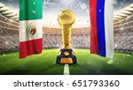 confederations cup. golden... | Shutterstock . vector #651793360