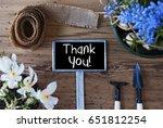spring flowers  sign  text...   Shutterstock . vector #651812254
