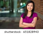 genuine natural headshot... | Shutterstock . vector #651828943