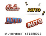 auto text for title or headline....   Shutterstock . vector #651858013