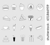 cute cartoon of coffee cup...   Shutterstock .eps vector #651866959