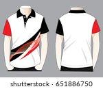 polo shirt design | Shutterstock .eps vector #651886750