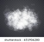 fog or smoke. illustration... | Shutterstock . vector #651906280