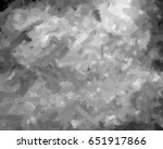 abstract black and white... | Shutterstock . vector #651917866