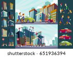 cartoon illustration of an... | Shutterstock . vector #651936394
