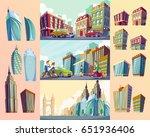 set cartoon illustrations of an ...   Shutterstock . vector #651936406