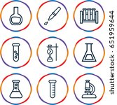 analysis icons set. set of 9...   Shutterstock .eps vector #651959644