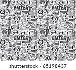 seamless web pattern | Shutterstock .eps vector #65198437