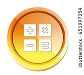 calculator symbols icon