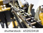 drilling machine | Shutterstock . vector #652023418
