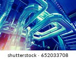 industrial zone  steel... | Shutterstock . vector #652033708