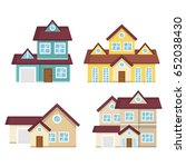 colorful houses design