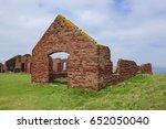 porthgain  pembrokeshire uk  ... | Shutterstock . vector #652050040
