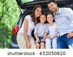 family car  | Shutterstock . vector #652050820