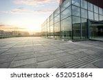 empty pavement and modern... | Shutterstock . vector #652051864