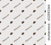 seamless vector pattern.... | Shutterstock .eps vector #652092364