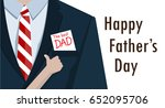 man suits and hand child like... | Shutterstock .eps vector #652095706
