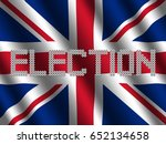 election text of votes on... | Shutterstock . vector #652134658
