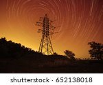 space energy  transmission... | Shutterstock . vector #652138018